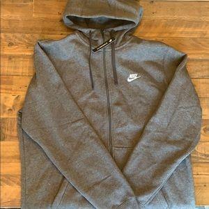 Nike Mens Full Zip Hooded Sweatshirt SZ XL